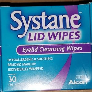 Systane Lid Wipes 6 boxes of makeup wipes